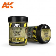 AK8006 Water Gel Swamp Green 250ml