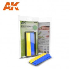 AK8208 Greenpower Bi-component Modelling Putty 2x10 cm