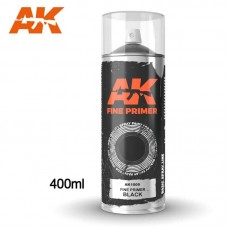 AK1009 Fine Primer Black - Spray 400ml