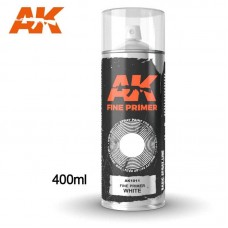 AK1011 Fine Primer White - Spray 400ml