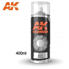 AK1013 Matt Varnish - Spray 400ml