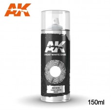 AK1019 Great White Base - Spray 150ml