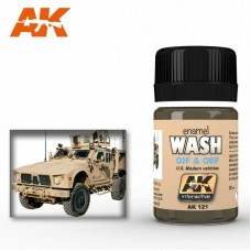 AK121 Oif & Oef Us Vehicles Wash