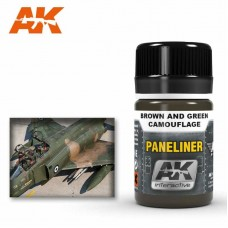 AK2071 Paneliner for Brown and Green Camouflage