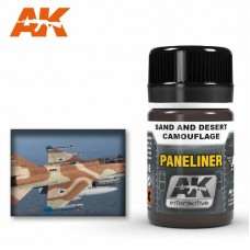 AK2073 Paneliner for Sand  and Desert Camouflage