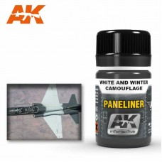 AK2074 Paneliner for White and Winter Camouflage