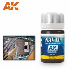 AK301 Dark Wash For Wood Deck