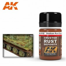 AK4112 Medium Rust Deposit