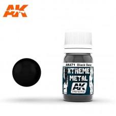 AK471 Xtreme Metal - Black Base 30ml