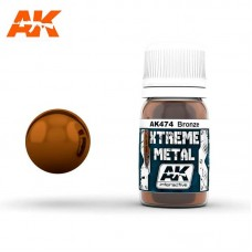 AK474 Xtreme Metal - Bronze 30ml