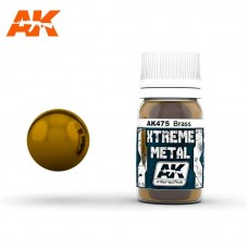 AK475 Xtreme Metal - Brass 30ml