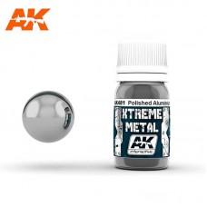 AK481 Xtreme Metal - Polished Aluminium 30ml