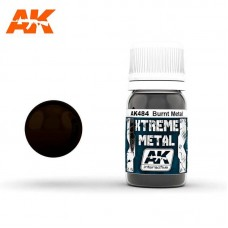 AK484 Xtreme Metal - Burnt Metal 30ml