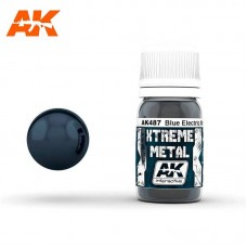AK487 Xtreme Metal - Metallic Blue 30ml