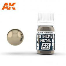 AK672 Xtreme Metal - Pale Brass 30ml