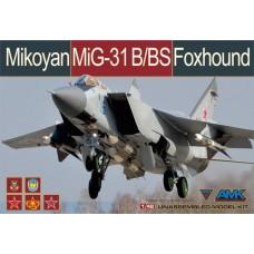 MiG-31B/BS Foxhound 1/48