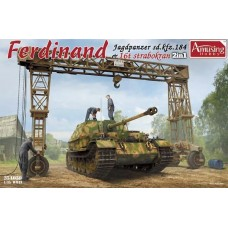 SD.Kfz.184 Ferdinand & 16t Strabokran Full Interior/Clear Roof Parts 1/35