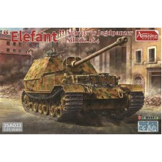 SD.Kfz.184 Elefant Full Interior/Clear Roof Parts 1/35