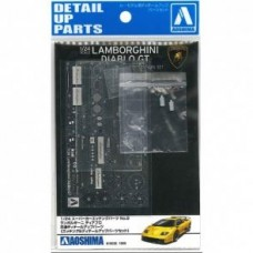 Lamborghini Diablo GT Detail Up Parts 1/24