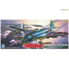 Kawanishi N1K2-Ja Shidenkai with Rocket Launcher 1/72