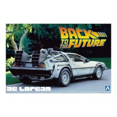 Back to the Future (Part I) Delorean DMC12 Time Machine 1/24