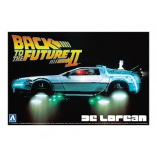 Back to the Future (Part II) Delorean DMC12 Time Machine 1/24