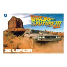 Back to the Future (Part III) Delorean DMC12 Time Machine 1/24