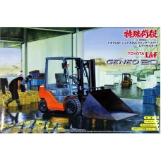 Toyota L&F Geneo 20 Forklift with Snowplow 1/32