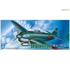 Kawanishi N1K1-Ja Shiden Type 11 Kou Ver.2 1/72