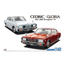 Nissan P332 Cedric/Gloria 4HT280E Brougham '78 1/24