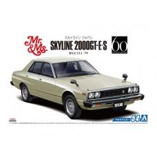 Nissan HGC211 Skyline 2000 GT-E S '79 1/24