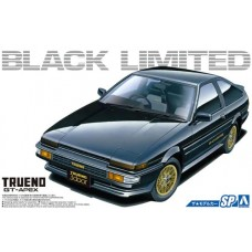 Toyota AE86 Sprinter Trueno GT-APEX Black Limited '86 1/24