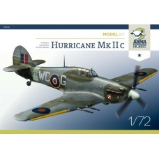 Hawker Hurricane Mk IIc Model Kit 1/72