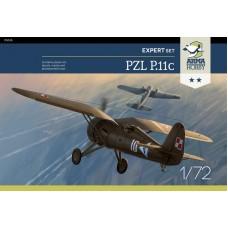 PZL P.11c Expert Set 1/72