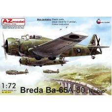 """Breda BA-65 A-80 """"Nibbio"""" Over Spain 1/72"""