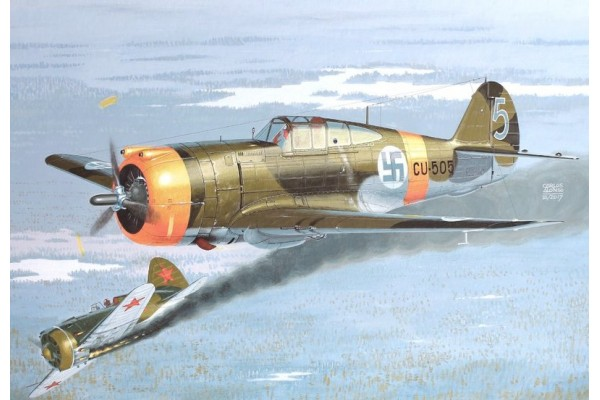 Curtiss Hawk H-75A Nordic Hunter 1/72