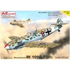 """Messerschmitt Bf 109E-7 """"Over Africa"""" 1/72"""