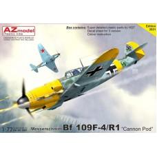 """Messerschmitt Bf 109F-4/R1 """"Cannon Pod"""" 1/72"""