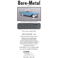 Chrome Bare Metal Foil