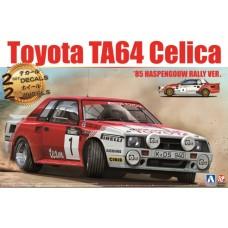 Toyota TA64 Celica '85 Haspengouw Rally Ver. 1/24
