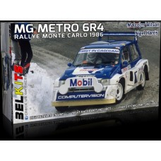 MG Metro 6R4 Group B - Monte Carlo Rally 1986 1/24