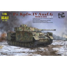 Pz.Kpfw.IV Ausf.G Mid/Late 2 in 1 1/35
