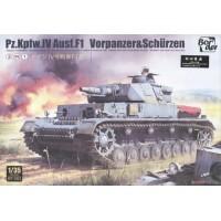 Panzer IV Ausf. F1 mit Zusatzpanzerung 3 in 1 1/35