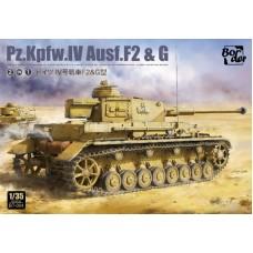 Panzer IV Ausf. F2 & G 2 in 1 1/35