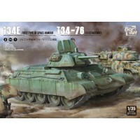 T-34E (First Type of Spaced Armour) T-34/76 (112 factory) 1/35