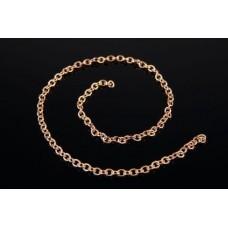 Medium Coarse Brass Chain