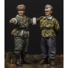 Corpus C35024 German soldier & scout 1/35