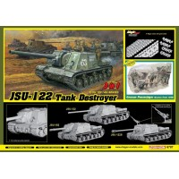 JSU-122 Tank Destroyer (3 in 1) 1/35
