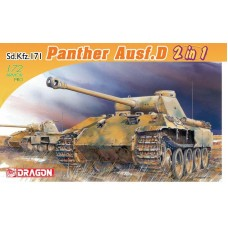 Sd.Kfz.171 Panther Ausf.D (2 in 1) 1/72