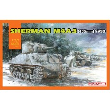 Sherman M4A3 (105mm) VVSS 1/72